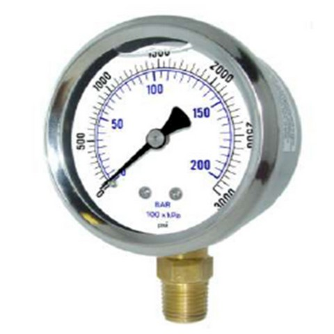 Quality Gauges – Stainless Steel x Brass - Pressure Gauges